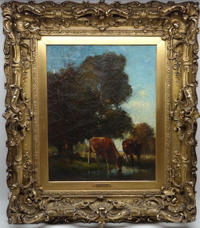 Bertus Pietersz (1869-1938) Oil/Canvas