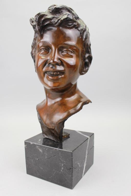 Vincenzo Cinque  (1852 - 1929) Bronze