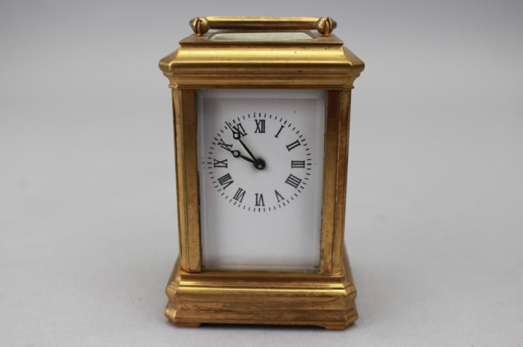 Antique Bronze French Cartel Clock