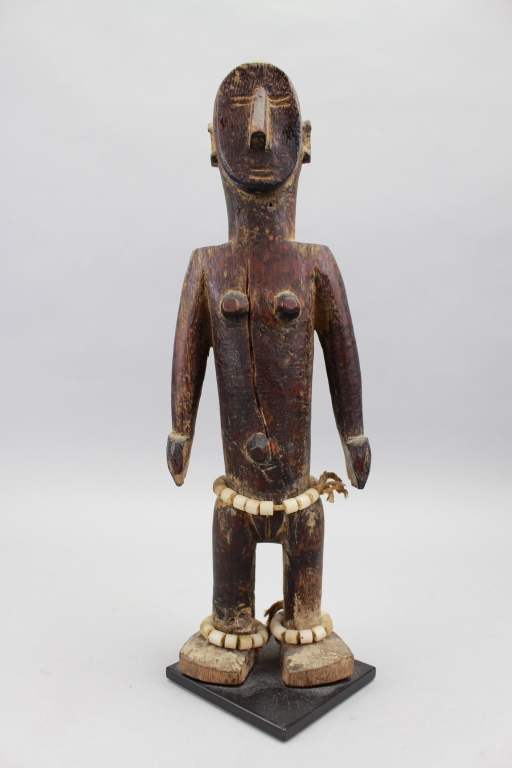 Antique Carved African Figure, Guinea