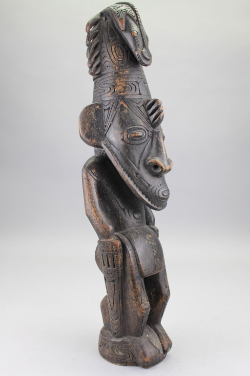 Antique Carved African Tribal Figure