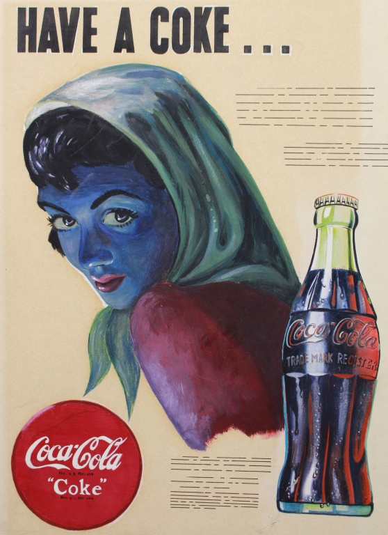 Original Coca-Cola Illustration, 20th C.