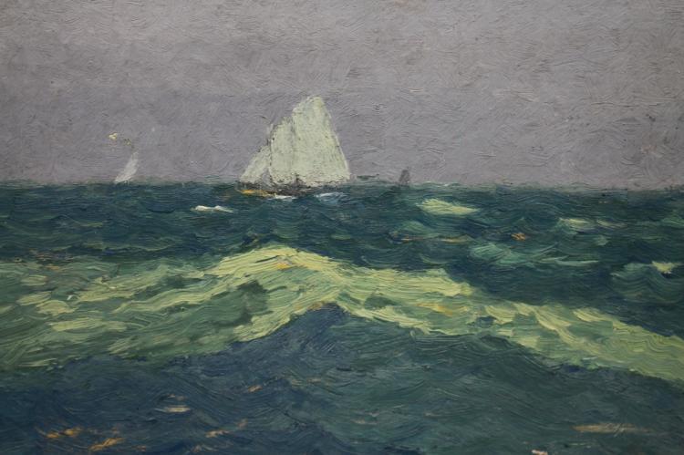 20th C. Impressionist Sailing scene