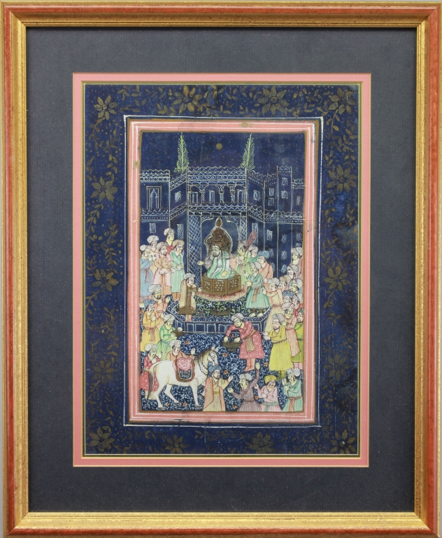 India, Early 20th C. Painting