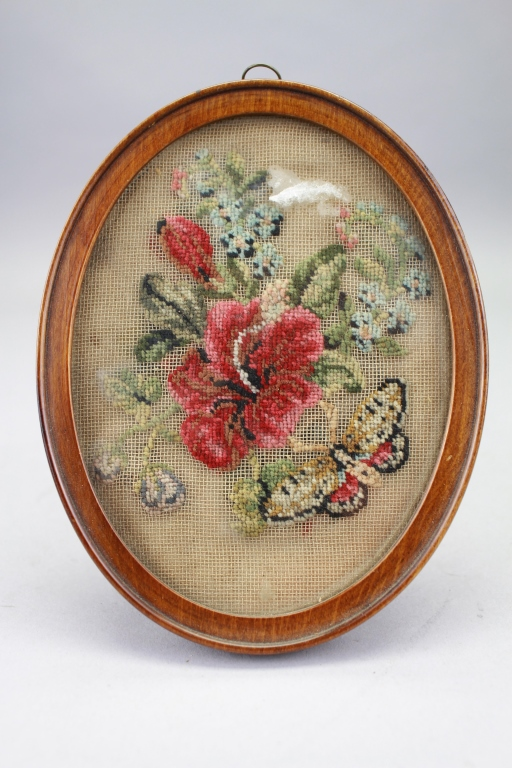 Antique Framed Needlework