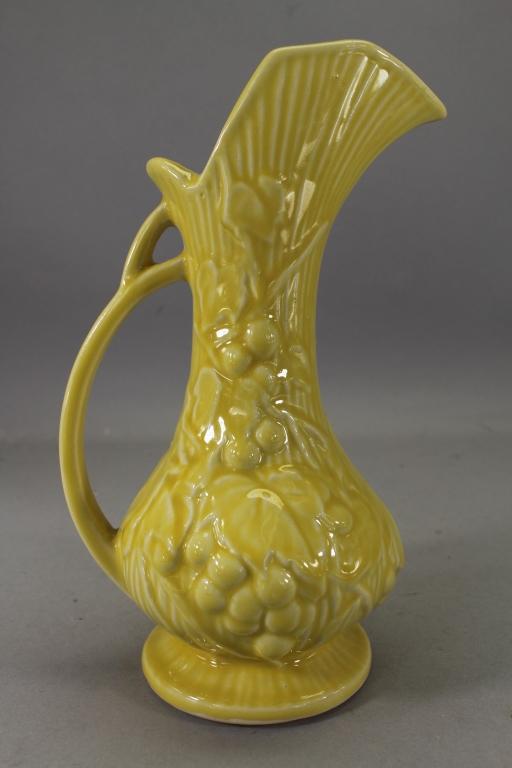 Yellow McCoy Pottery Ewer