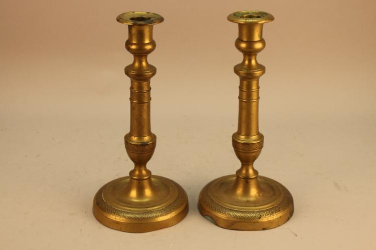 Antique French Empire Candlesticks