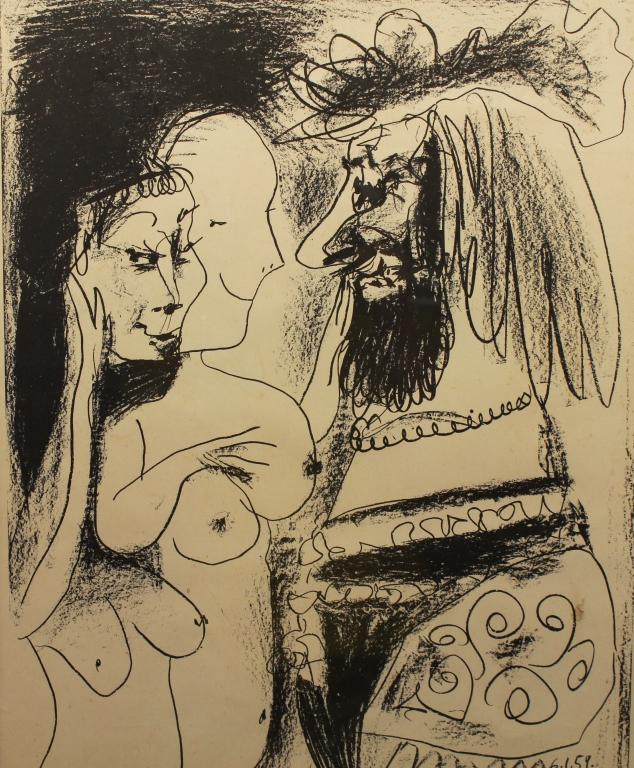Picasso Framed 1959