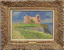 William Horton  (1865 - 1936) Tantallon Castle