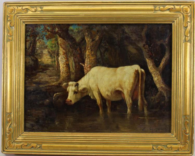 Emile Van Marcke (France, 1827 - 1890)