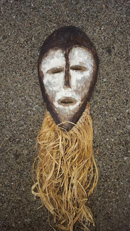 20th C. Lega Ppl Bwami Society Mask