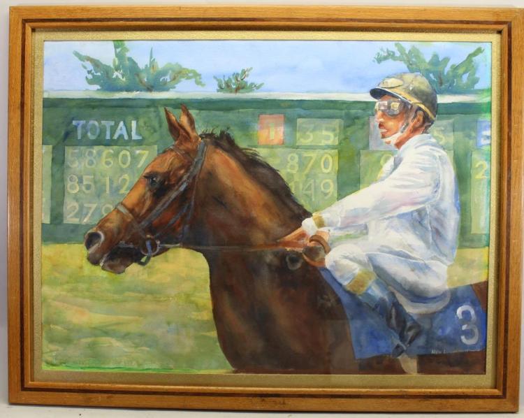 Ned Luzmoor (California Born 1928)
