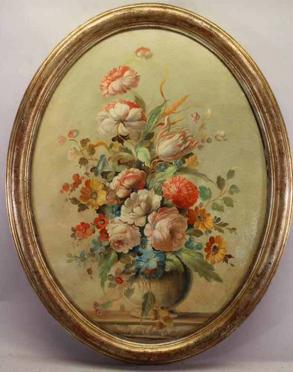 French School 18th C. Style Antique Still Life