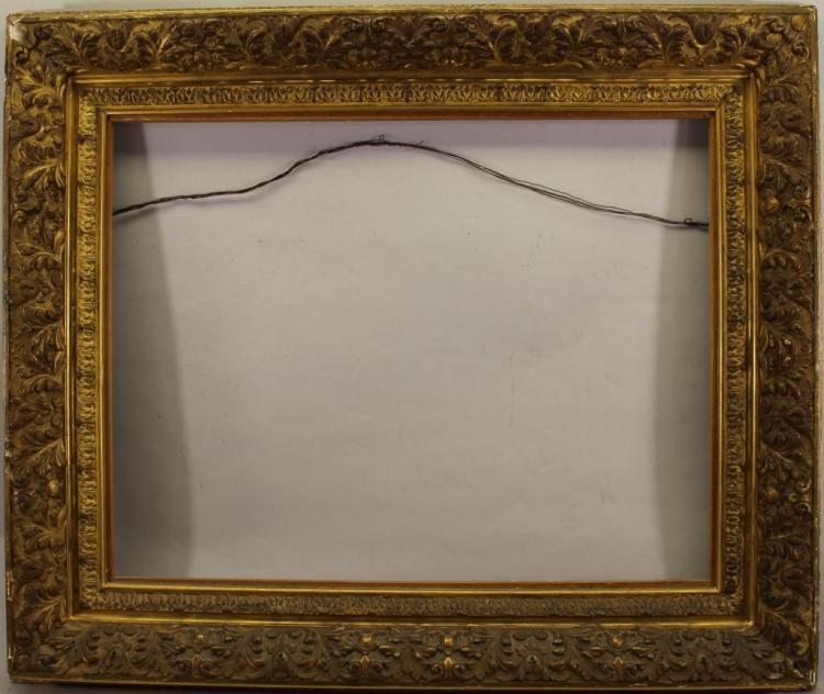 Fine Carved Antique Gilt/Wood Frame