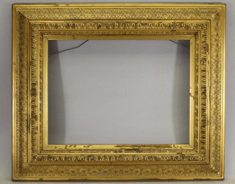 Fine Gilt/Carved Wooden Frame