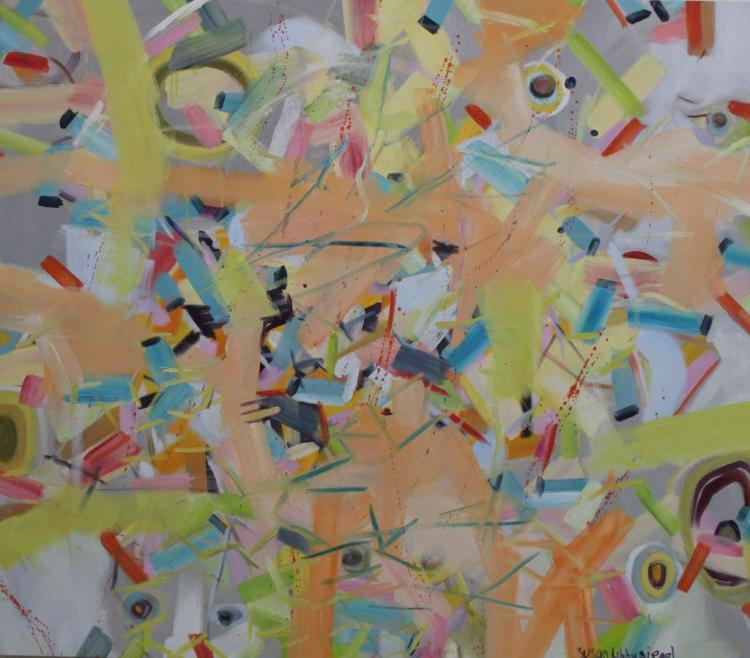Susan Libby Siegel, Large Abstract Painting