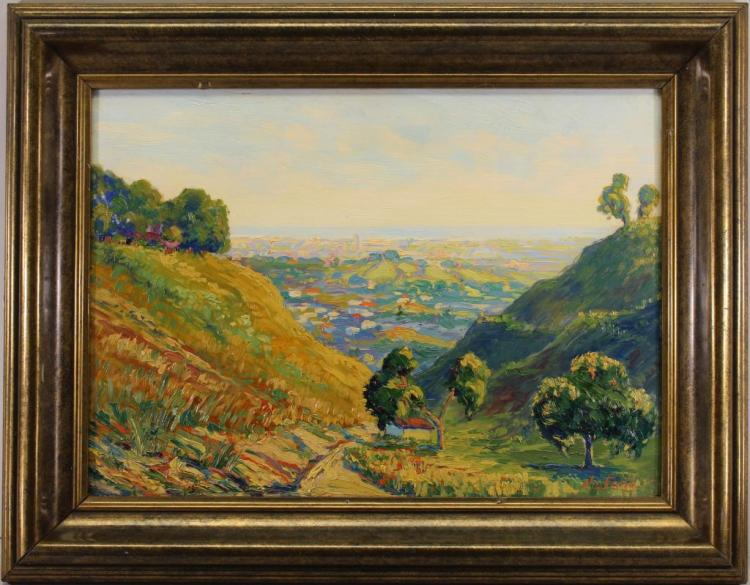 Signd Early 20th C French Landscape, Ex Christie's