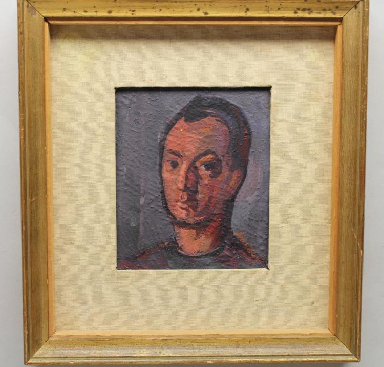 Signed, European School Portrait of a Man