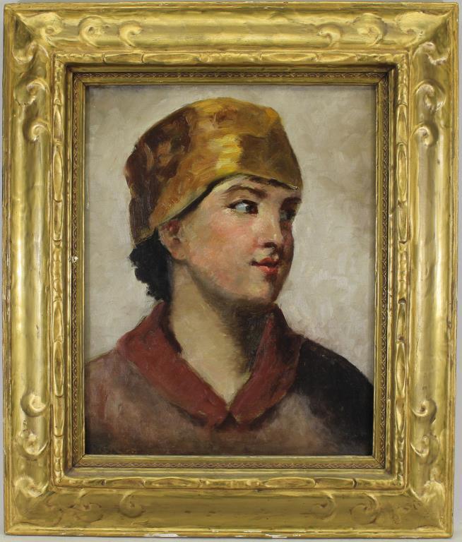 European School, Portrait of a Young Woman