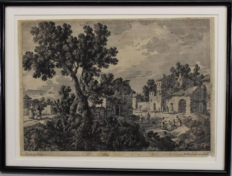 After Adam Perelle (1638 - 1695) Old Master Print