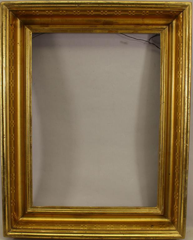Carved/Gilded American Frame