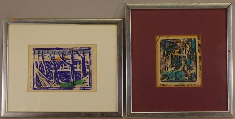 (2) Vincent Drennan (New York born 1902)