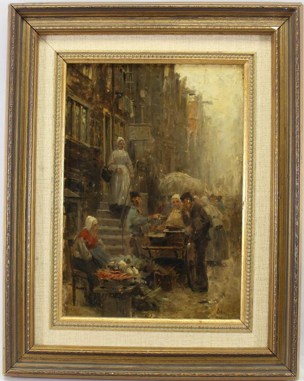 Otto Eckmann (1865-1902) Street Scene, Christie's