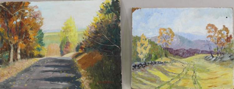 American School, (2) New England Landscapes
