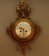 Antique TIFFANY & Co. Gilt Bronze Cartel Clock