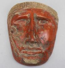 Pre Columbian Death Mask
