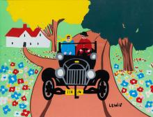 MAUD LEWIS - Untitled - Out For a Drive