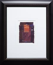 GRAHAM CANTIENI - Untitled - Brown and Black Collage