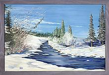 VERNA BETKER - Untitled - Winter Landscape