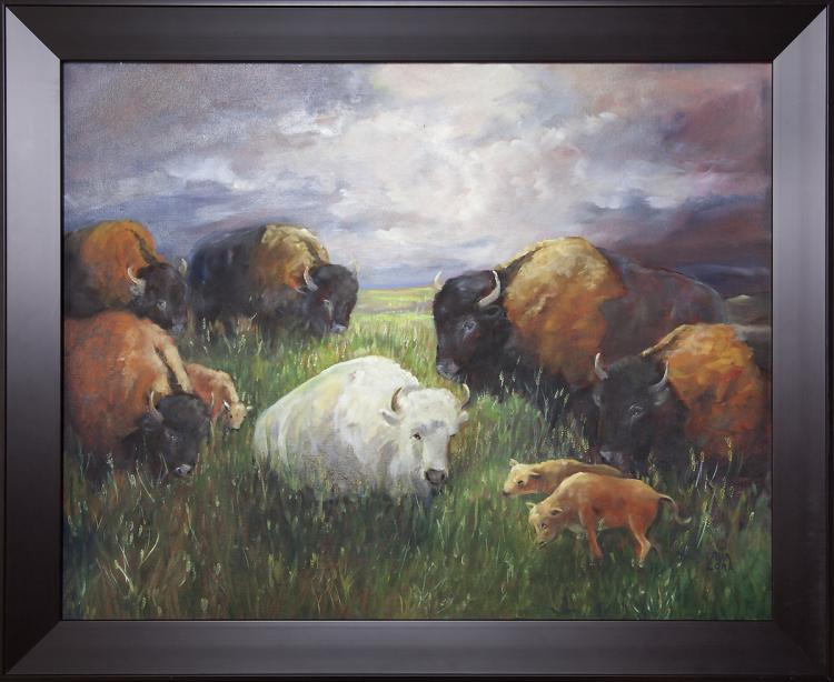 LORA ARMBRUSTER - Untitled - Bison
