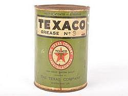 TIN Texaco Grease No. 3 Large Great Original