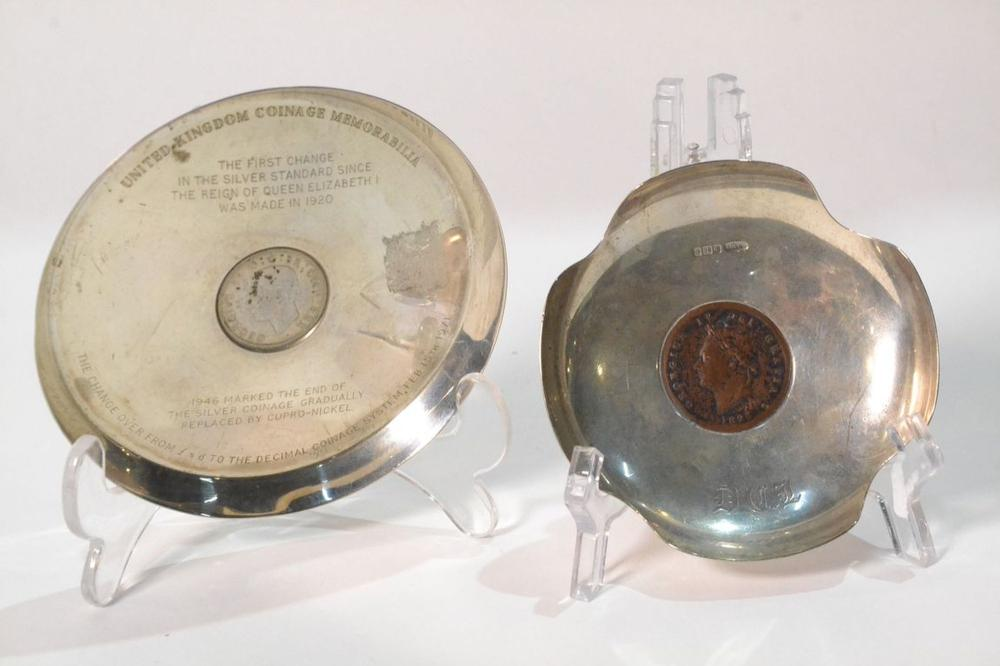 COIN DISHES (Two)