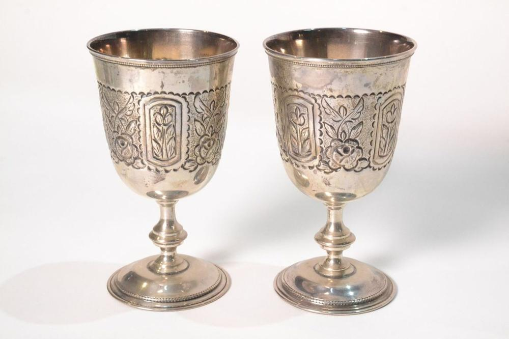 GOBLETS (Two)