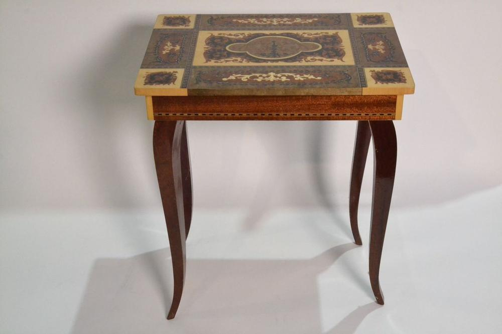INLAID PETIT SEWING TABLE