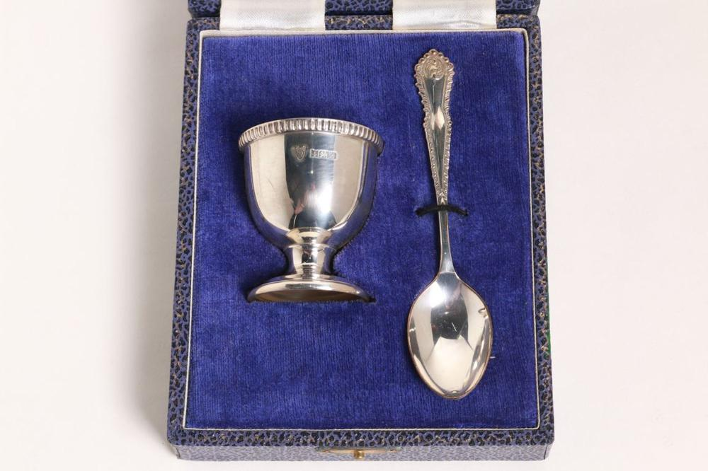 EGG CUP & SPOON