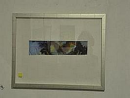 "DAVID REID ""The Flow V"" Watercolour Signed Lower"