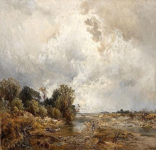 EUGEN BIRZER (1847 Waldsassen - 1905 Munchen)