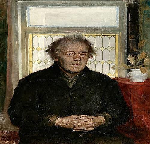 CARL WIEDERHOLD (1865 Hannover - 1961 Buckeburg)