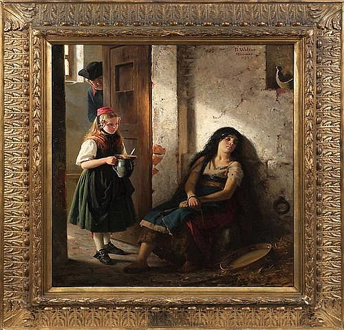 BERTHOLD WOLTZE (1829 Havelberg - 1896 Weimar)