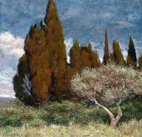 RICHARD SCHLoSSER (1879 Hannover - 1962 ebenda)