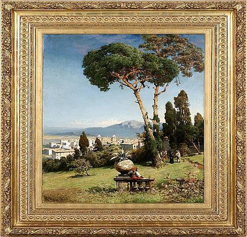 CHRISTIAN WILBERG (1839 Havelberg - 1882 Paris)