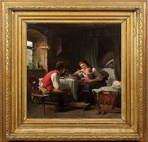 HEINRICH EWERS (1817 Wismar - 1885 Dusseldorf)