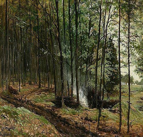 RICHARD THIERBACH (1860 Stolberg/Harz - 1931