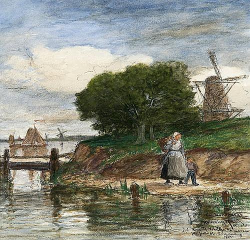 HEINRICH RASCH (1840 Norburg (Schleswig) - 1913
