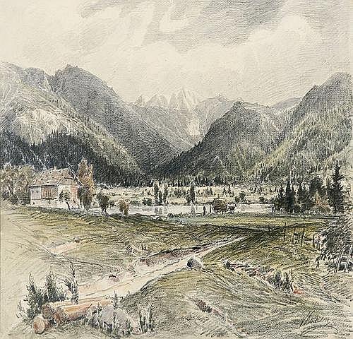 GUSTAV KOKEN (1850 Hannover - 1910 ebenda)