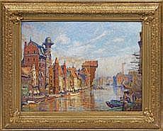 Theodor Urtnowski (Deutsch-polnischer Maler. 1881